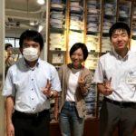 【TRYFULL鎌倉–メーカーズシャツ鎌倉で実習をしています】